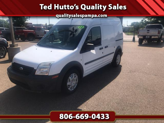 Ford Transit Connect XL with Side and Rear Door Glass 2013