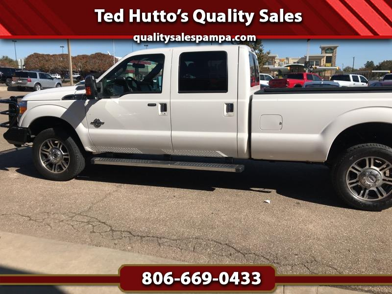2015 Ford F-350 SD Lariat Crew Cab Long Bed 4WD