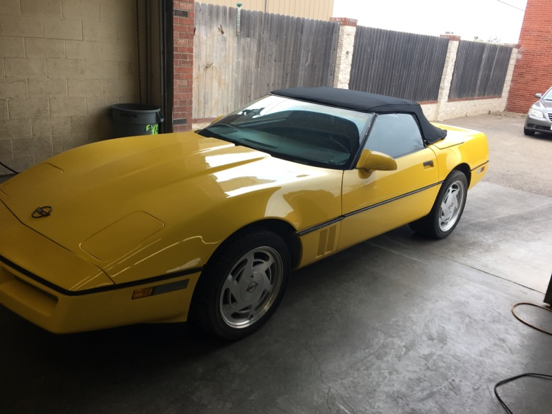 Chevrolet Corvette Convertible 1989