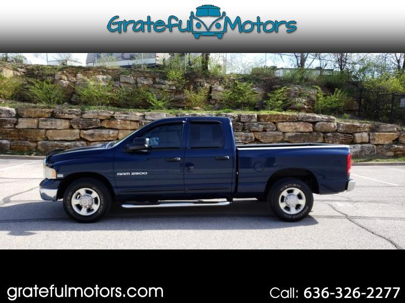 2003 Dodge Ram 2500 ST Quad Cab Long Bed 2WD