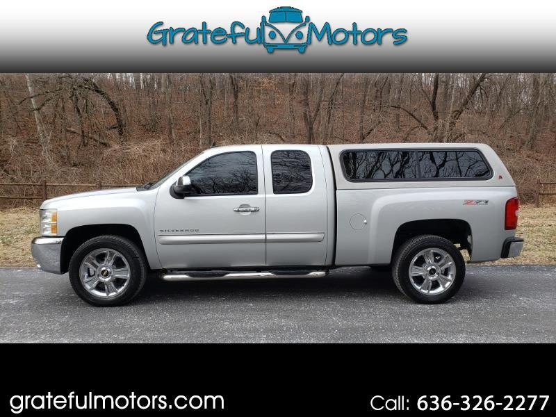 Chevrolet Silverado 1500 Z71 Ext. Cab Short Bed 4WD 2012
