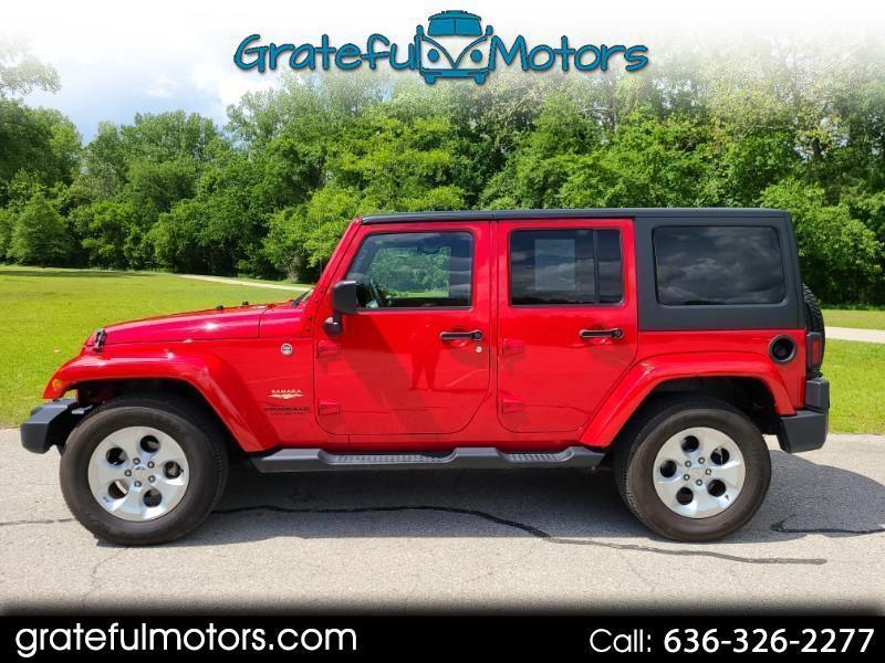 Jeep Wrangler Unlimited Sahara 4WD 2014