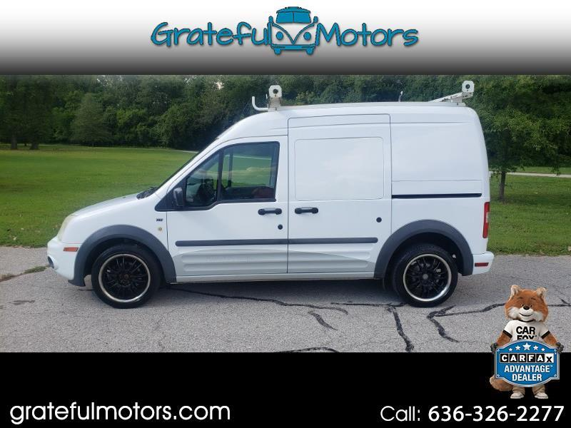 Ford Transit Connect XLT with Side and Rear Door Glass 2012