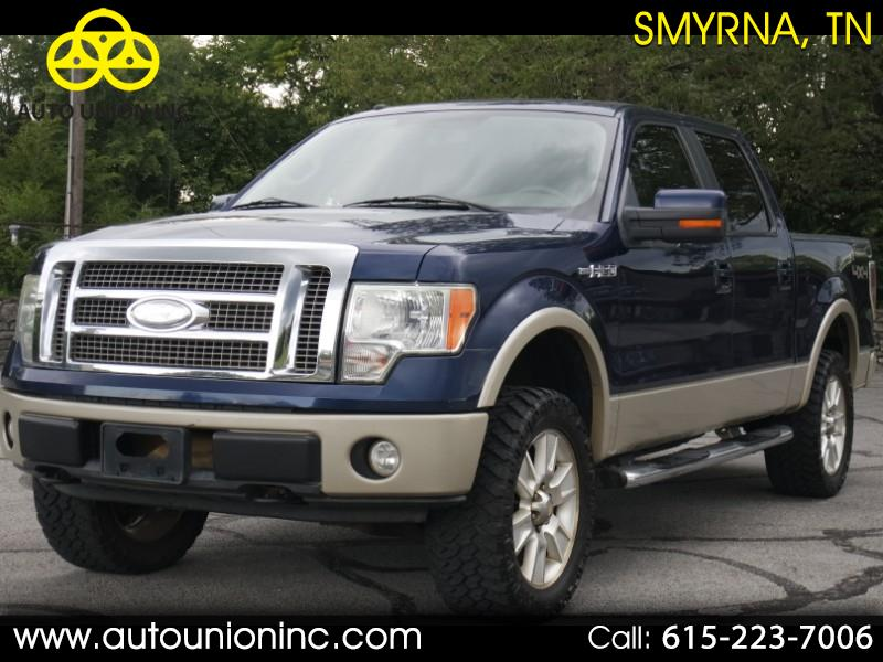 2009 Ford F-150 Lariat 4WD SuperCrew 5.5' Box