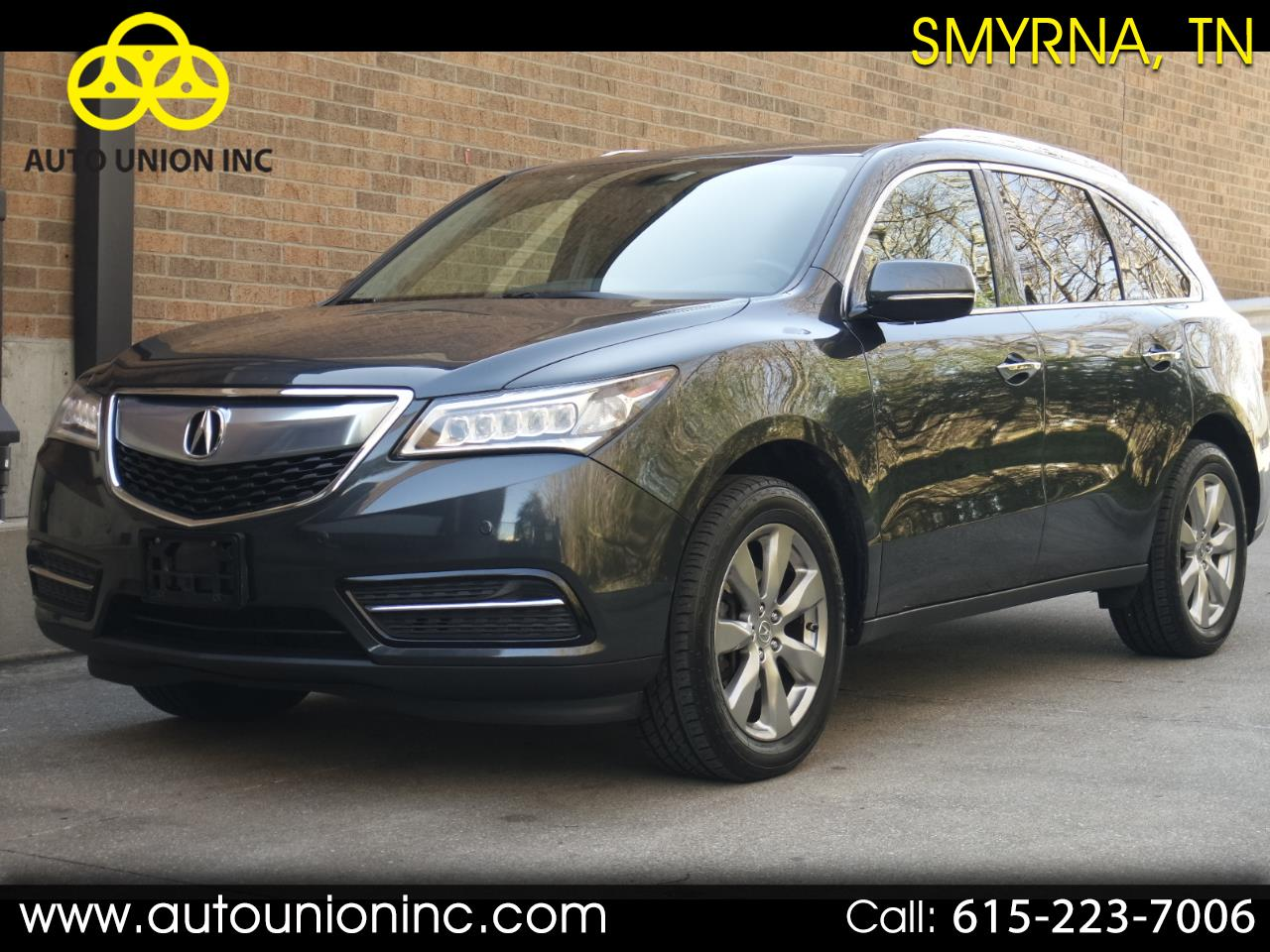 Acura MDX SH-AWD 4dr Advance/Entertainment Pkg 2014
