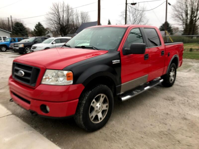 2008 Ford F-150 FX4 SuperCrew Short Box