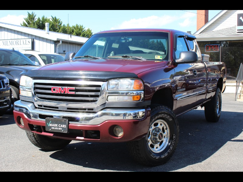 2003 GMC Sierra 2500HD SLE Ext. Cab Long Bed 4WD