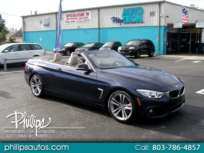 BMW 4-Series 428i convertible 2014