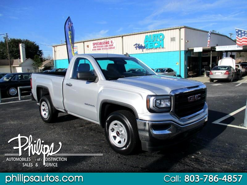 GMC Sierra 1500 Base Regular Cab 2WD 2016
