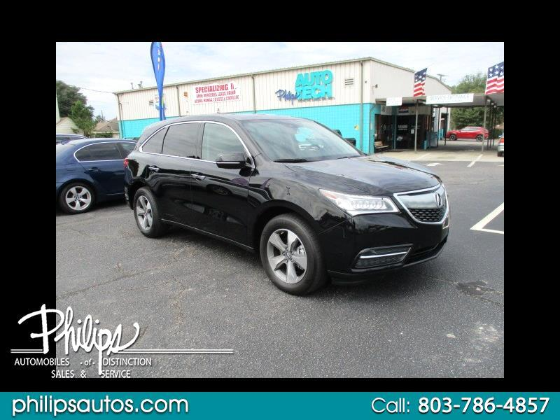 Acura MDX 9-Spd AT w/ AcuraWatch Plus 2016