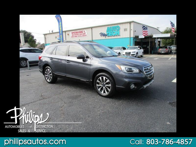 used 2015 subaru outback 3 6r limited for sale in columbia sc 29204 philips motor company inc columbia sc 29204 philips motor company