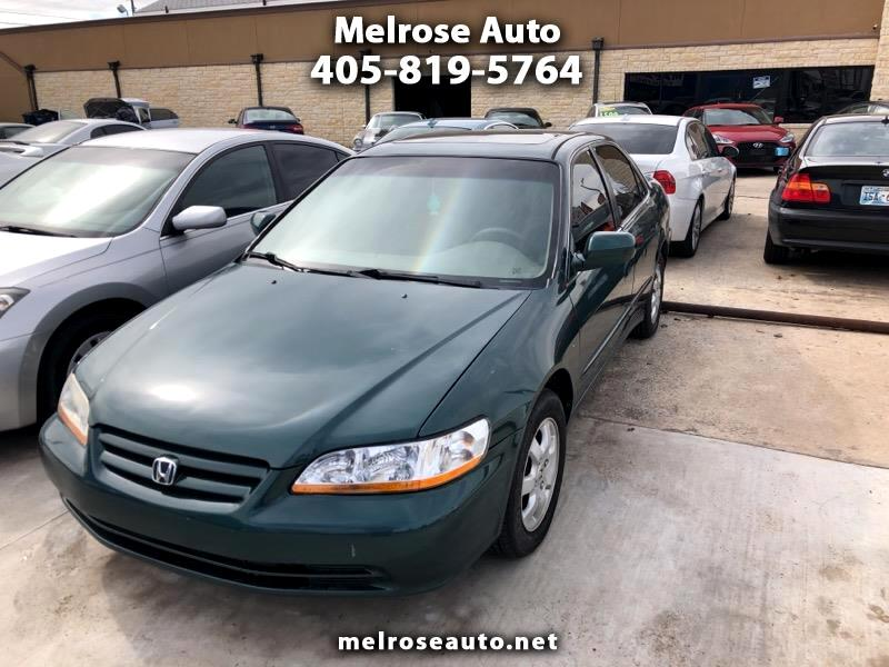 2002 Honda Accord EX Sedan with Leather