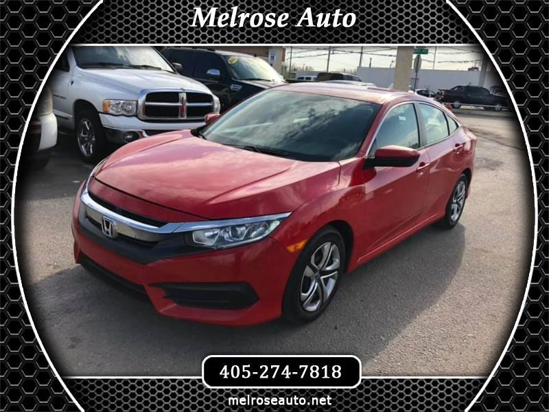 2016 Honda Civic 4dr Sedan LX Auto