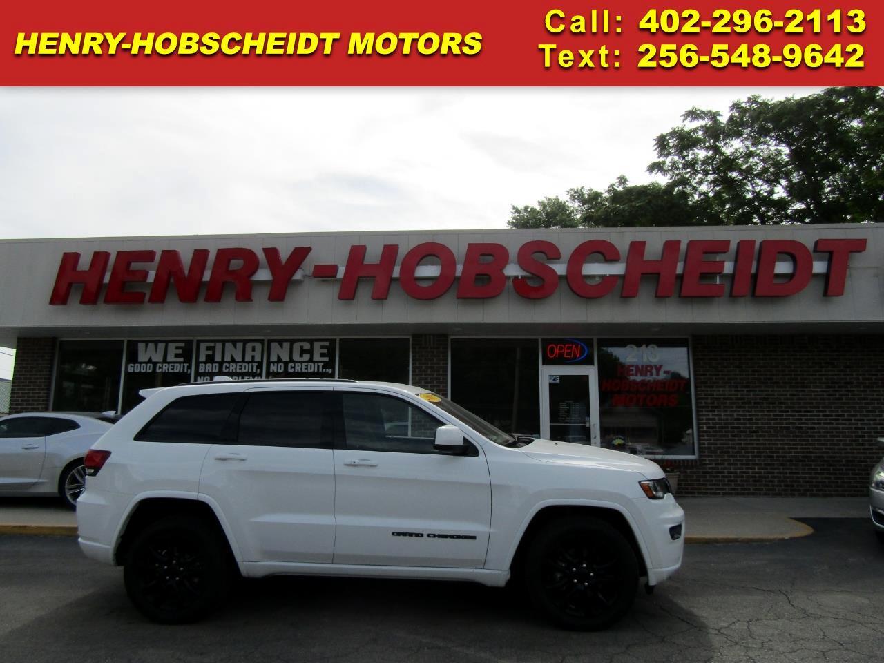 2017 Jeep Grand Cherokee 4dr Laredo 4WD