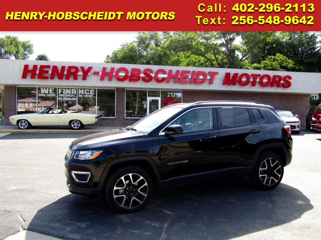 2018 Jeep Compass 4WD 4dr Limited