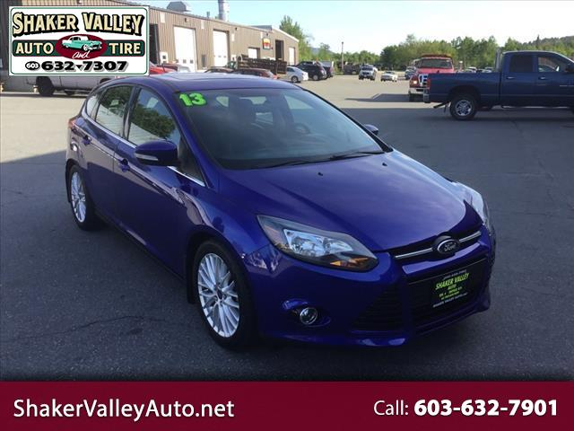 2013 Ford Focus Titanium Hatch