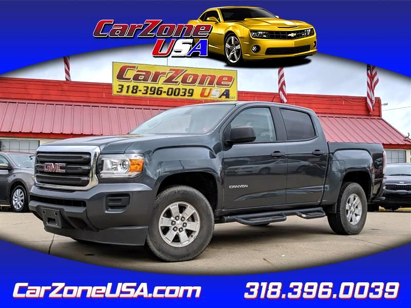 2015 GMC Canyon Base Crew Cab 2WD Long Box