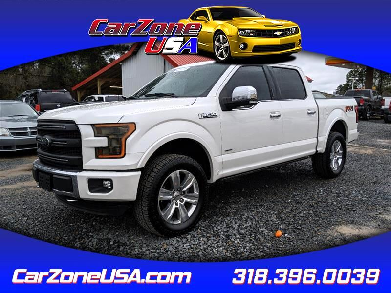 Ford F-150 Platinum SuperCrew 6.5-ft. Bed 4WD 2016
