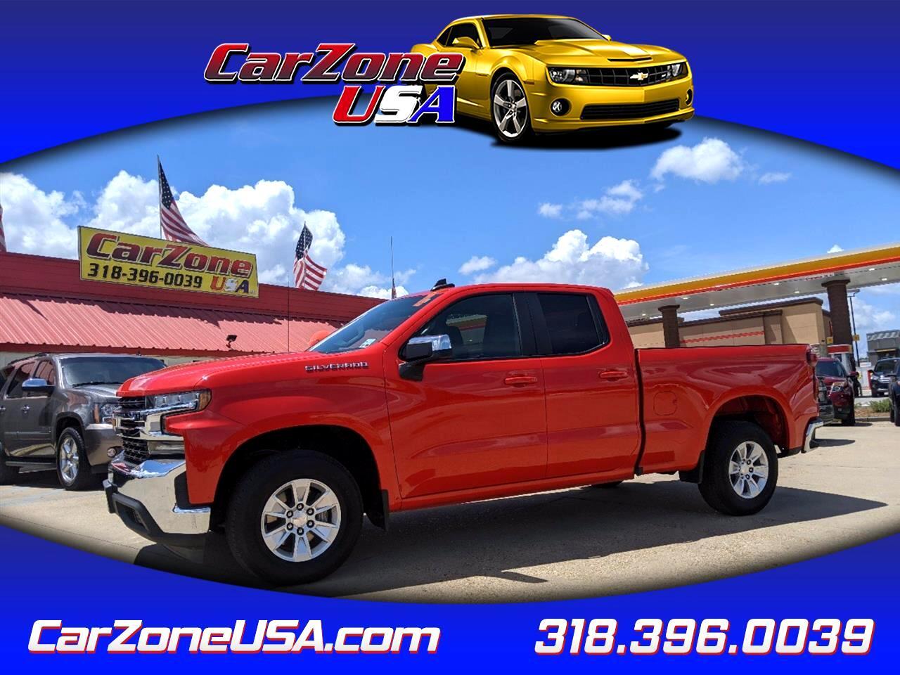 """Chevrolet Silverado 1500 2WD Double Cab 147"""" LT 2020"""