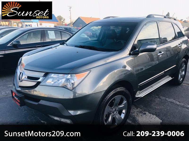 Acura MDX Sport Package with Rear DVD System 2007