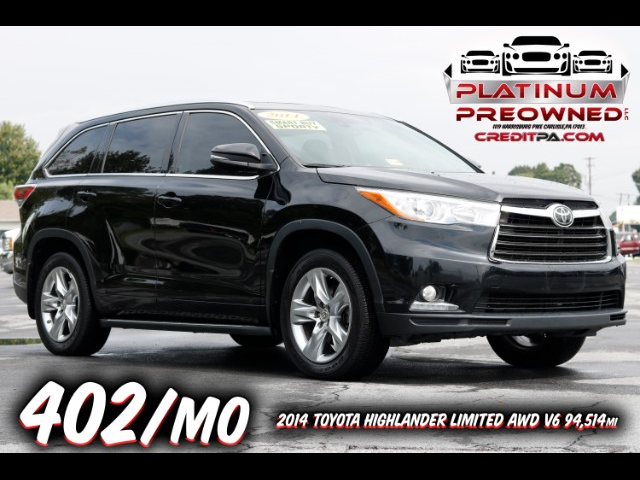 2014 Toyota Highlander AWD 4dr V6 Limited (Natl)