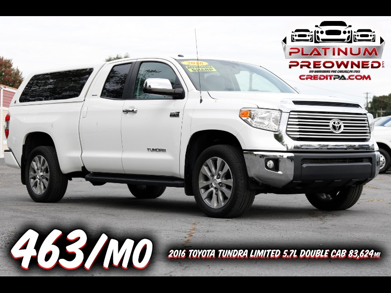 2016 Toyota Tundra Limited 5.7L Double Cab 4WD