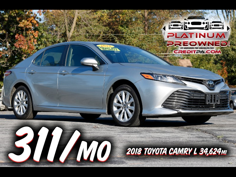 2018 Toyota Camry 4dr Sdn LE Auto