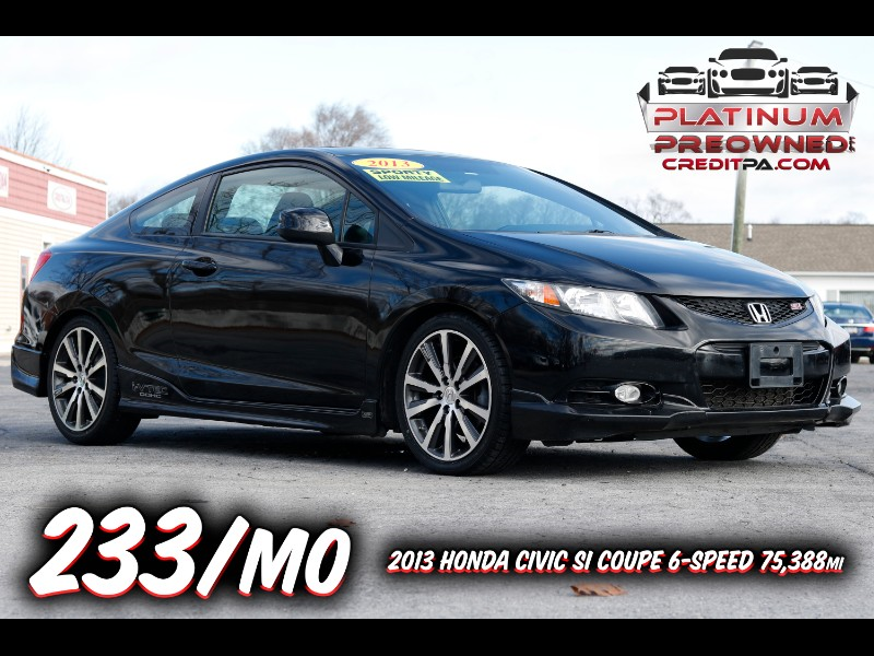 2013 Honda Civic Si Coupe 6-Speed MT