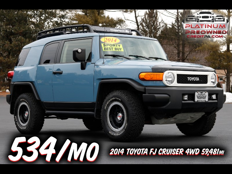 2014 Toyota FJ Cruiser 4WD AT