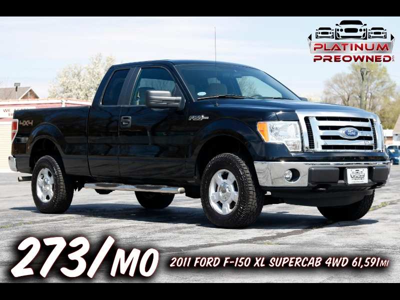 2011 Ford F-150 XL SuperCab 8-ft. Bed 4WD