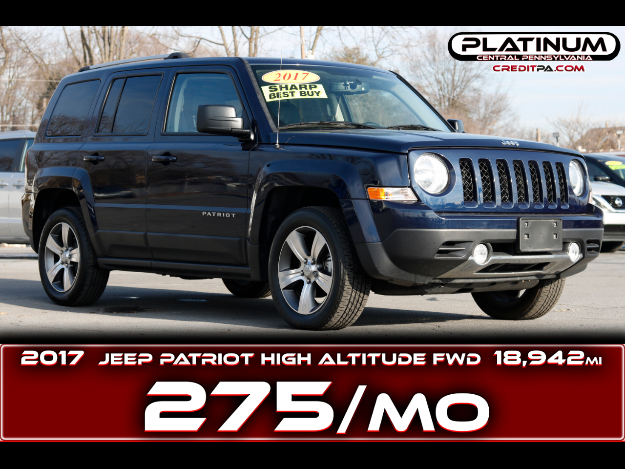 Jeep Patriot High Altitude FWD 2017