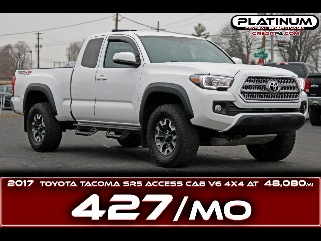 Toyota Tacoma TRD Off Road Access Cab 6' Bed V6 4x4 AT (Natl) 2017