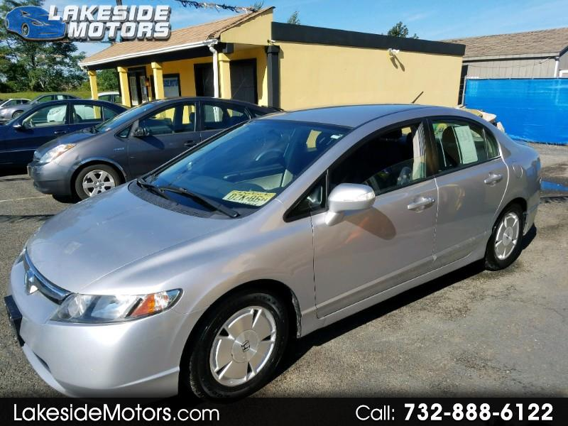 2008 Honda Civic Hybrid CVT AT-PZEV