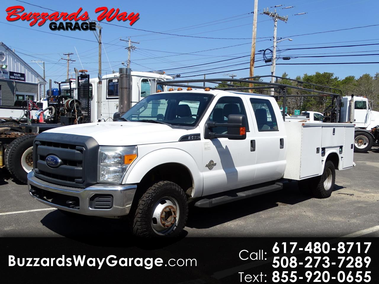 Ford F-350 SD XL Crew Cab Long Bed DRW 4WD 2013
