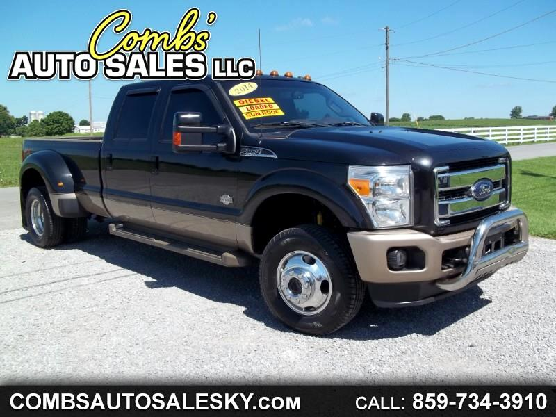 Ford F-350 SD King Ranch Crew Cab Long Bed DRW 4WD 2014