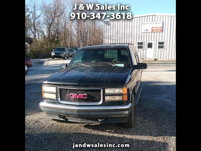 used 1998 gmc yukon sle 4wd for sale in jacksonville nc 28546 j w sales inc j w sales inc