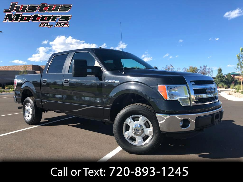 2014 Ford F-150 XLT SuperCrew 6.5-ft. Bed 4WD