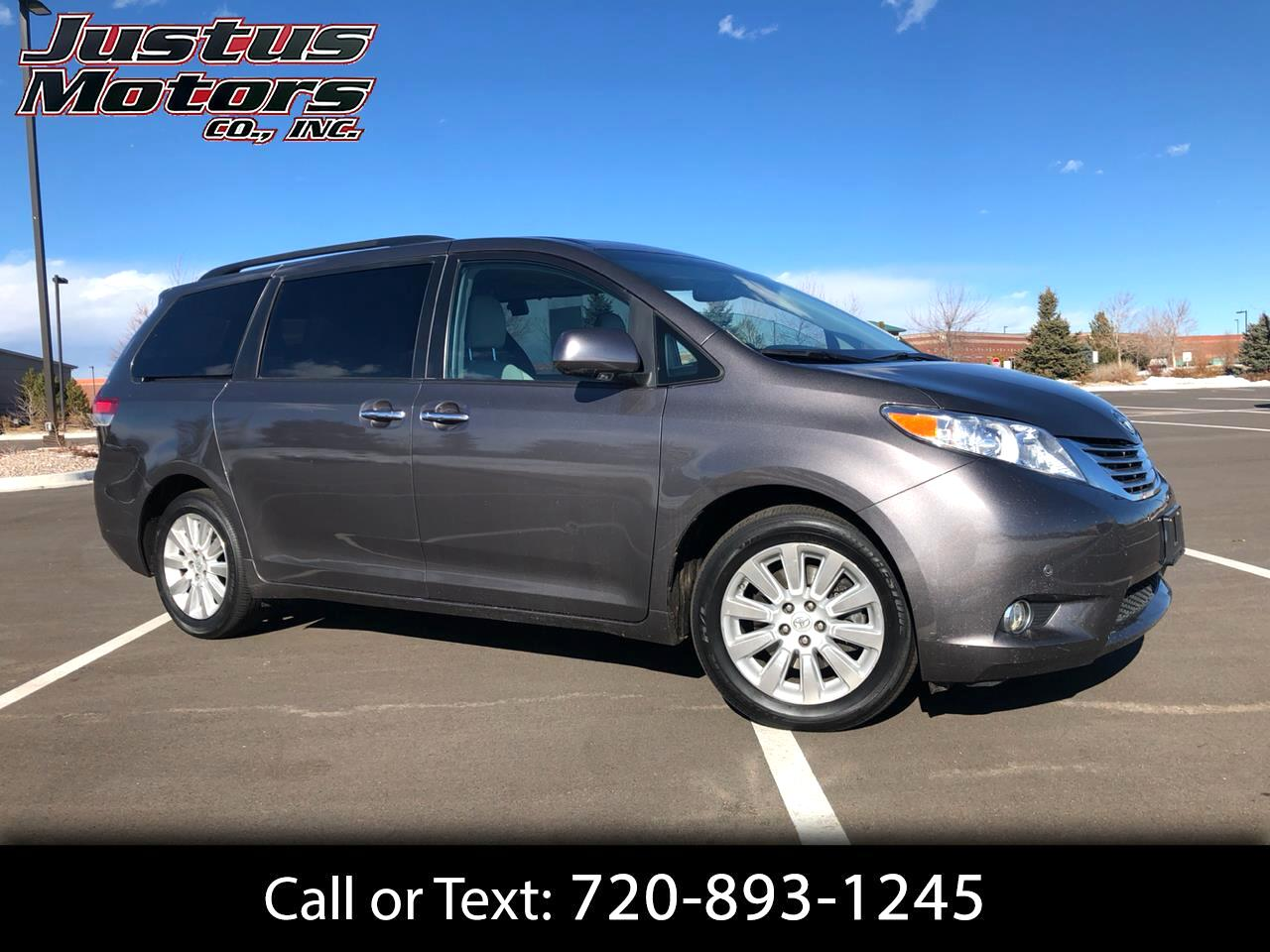 2012 Toyota Sienna 5dr XLE Limited AWD (Natl)
