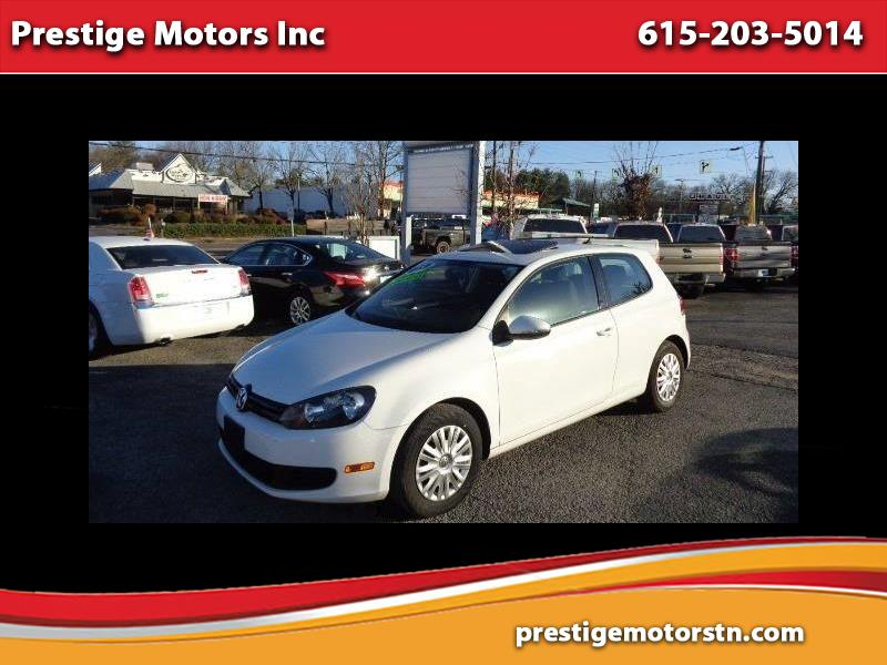 2013 Volkswagen Golf 2.5L 2-Door PZEV