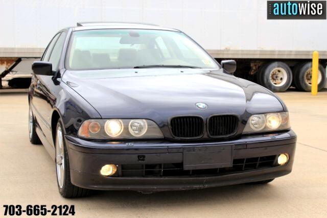 2003 BMW 5 Series 530i Sedan