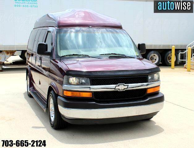 "2003 Chevrolet Express Cargo Van 1500 135"" WB RWD YF7 Upfitter"