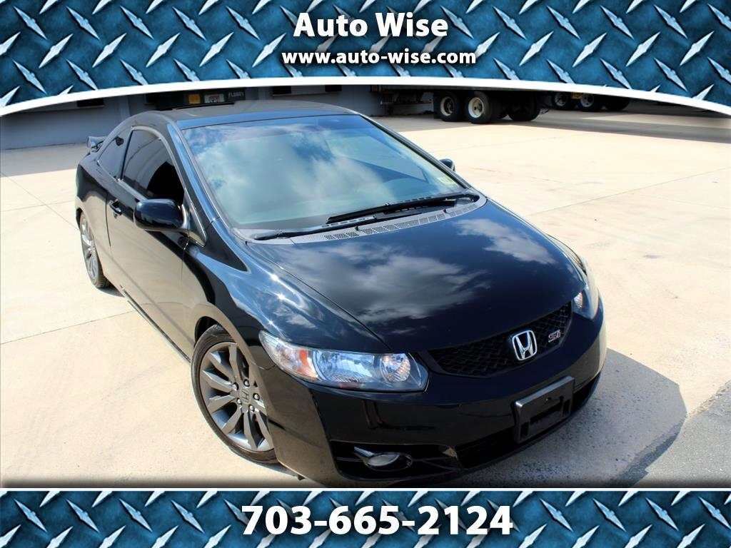 2009 Honda Civic 2dr Man Si