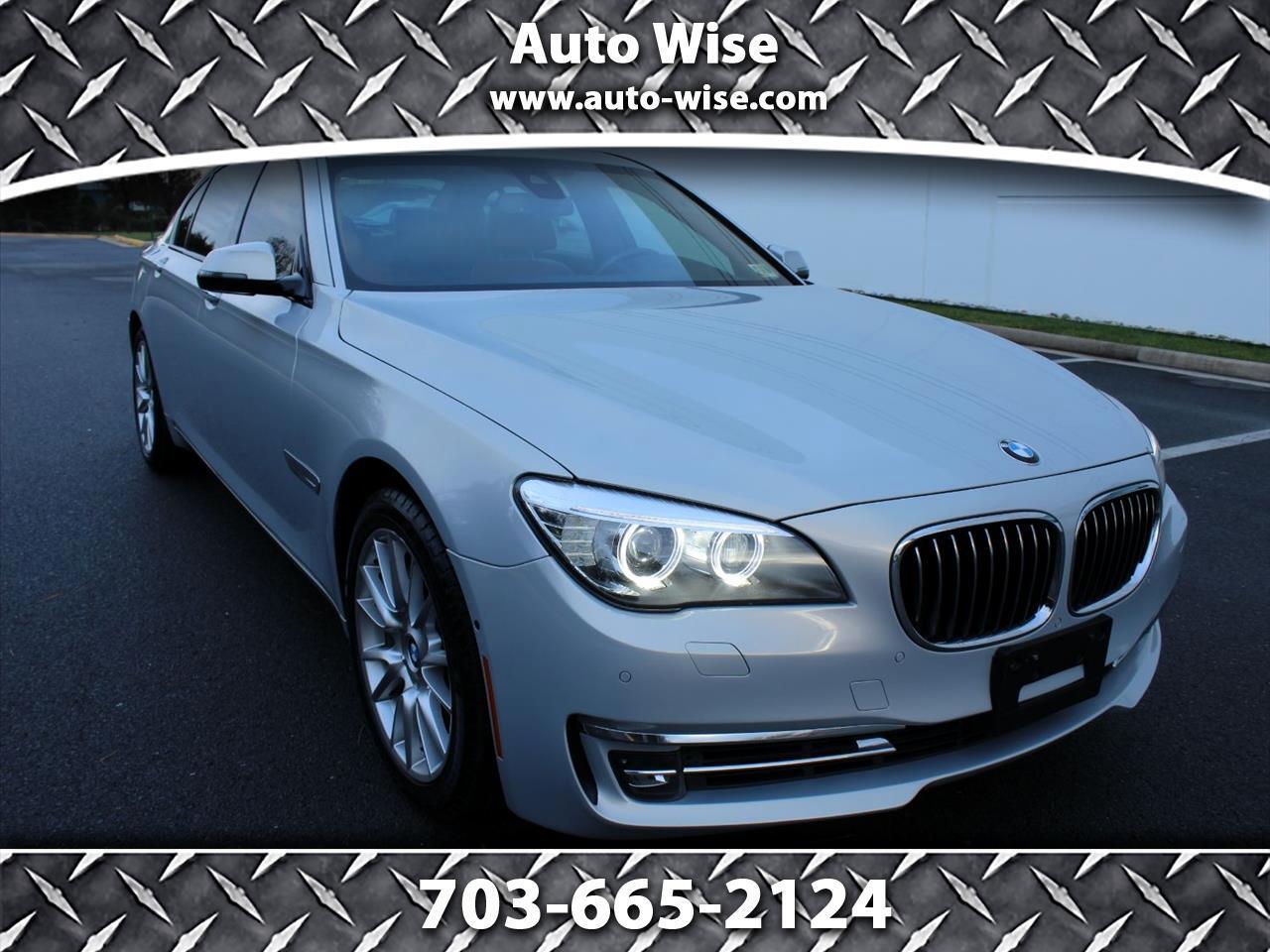 2013 BMW 7 Series 4dr Sdn 740Li RWD