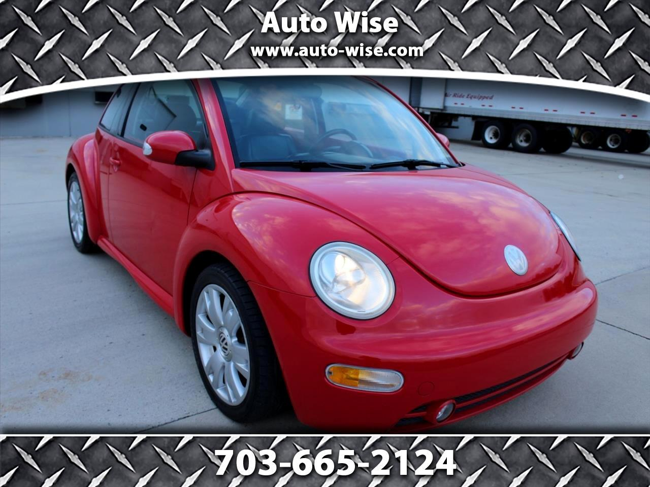 2003 Volkswagen New Beetle Coupe 2dr Cpe GLS Turbo Manual