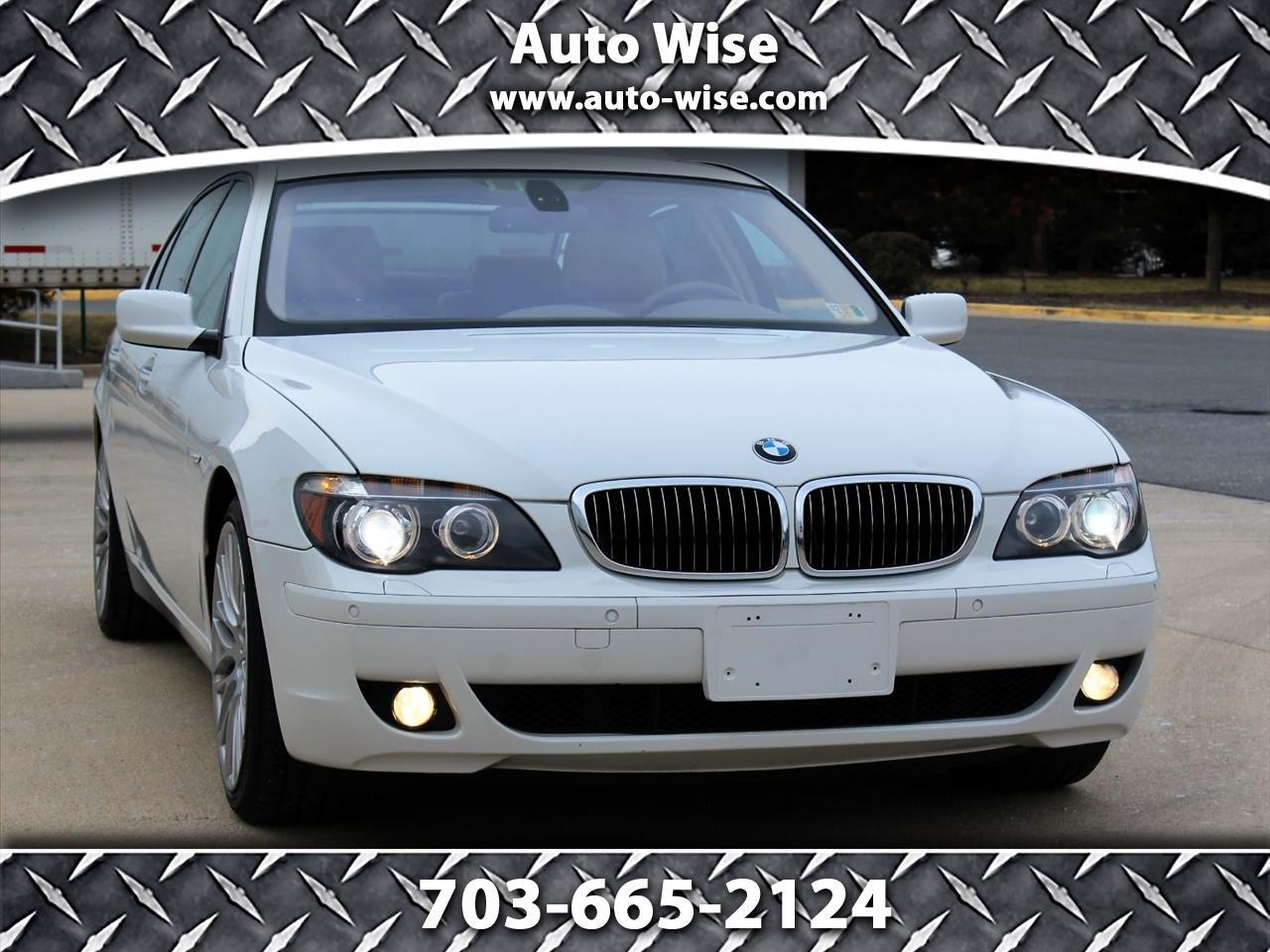 2008 BMW 7 Series 4dr Sdn 750Li