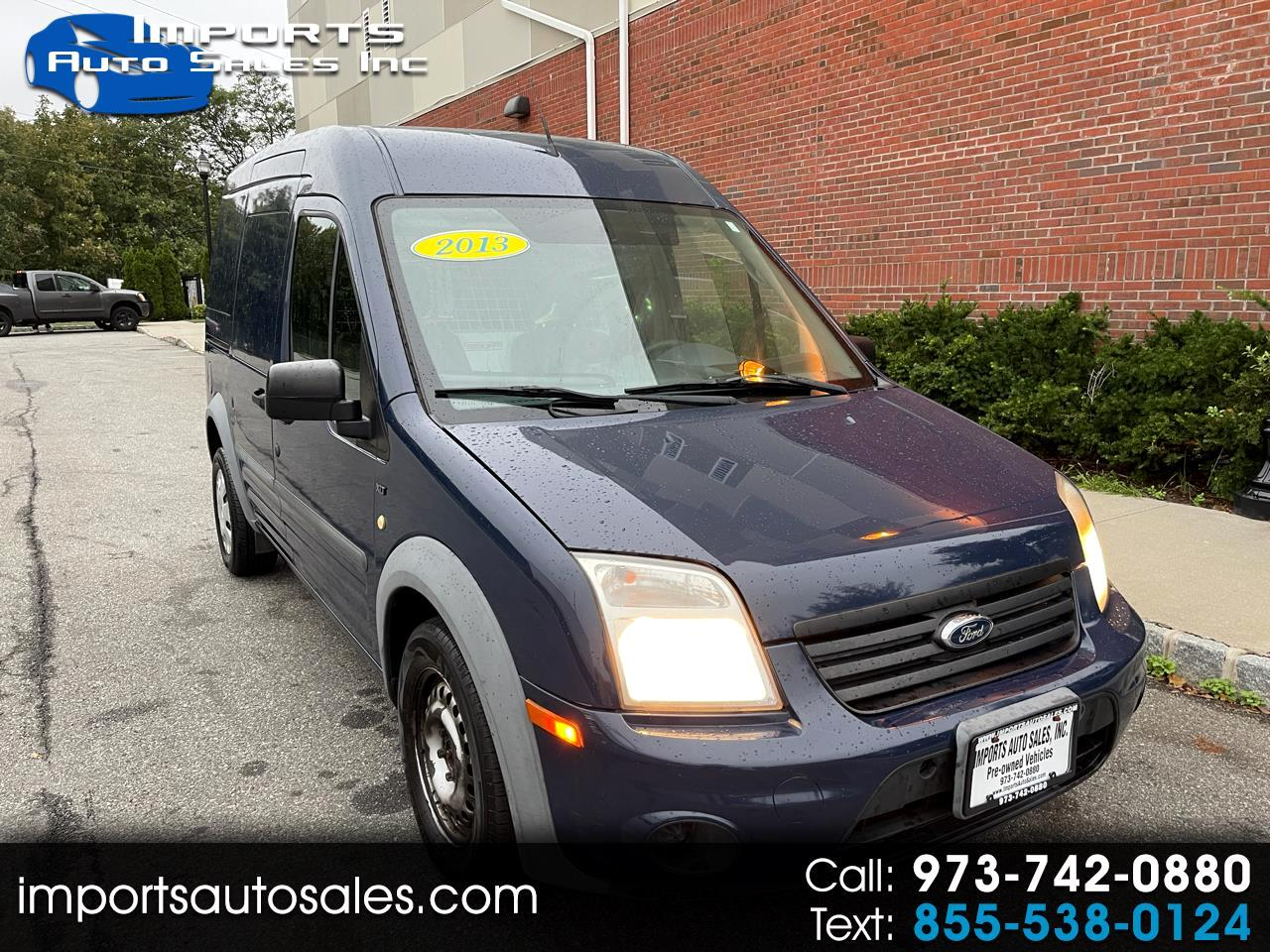 Ford Transit Connect XLT with Side and Rear Door Glass 2013