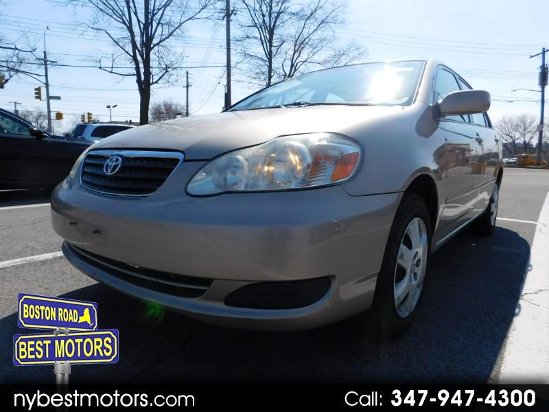2007 Toyota Corolla 4dr Sdn Manual LE (Natl)