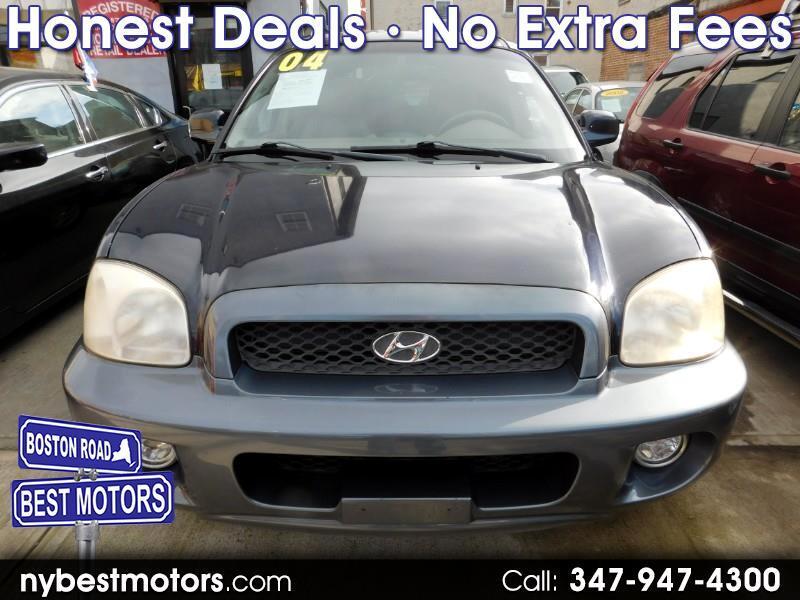 Hyundai Santa Fe GLS 3.5L 4WD 2004
