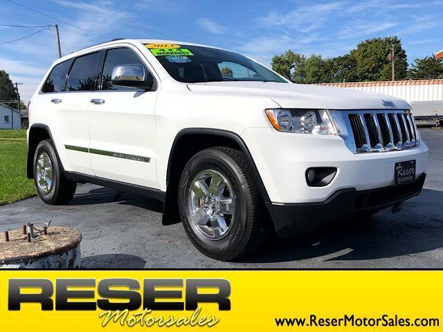 2013 Jeep Grand Cherokee 4WD 4dr Laredo