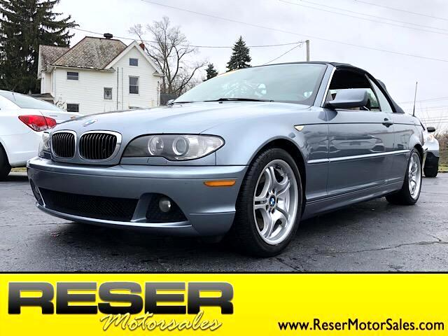 2006 BMW 3 Series 330Ci 2dr Convertible